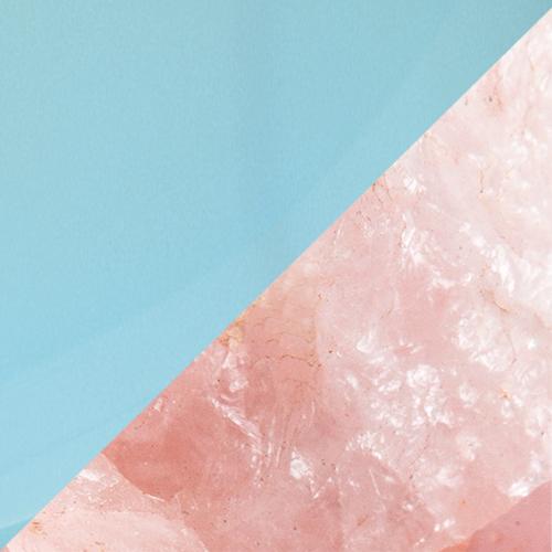 Aqua Chalcedony – Rose Quartz