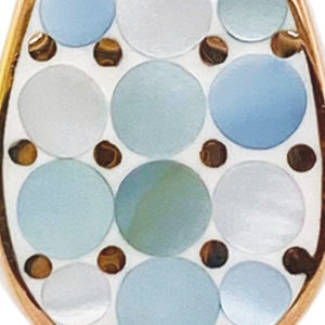Aqua Mosaic Mother of Pearl