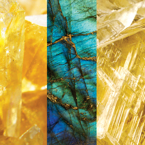 Yellow Quartz – Citrine – Labradorite
