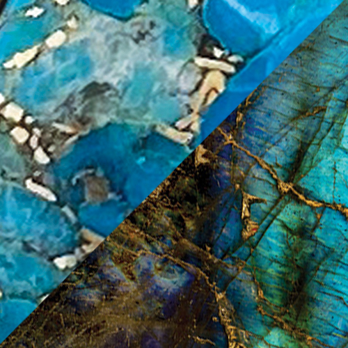 Copper Turquoise – Labradorite