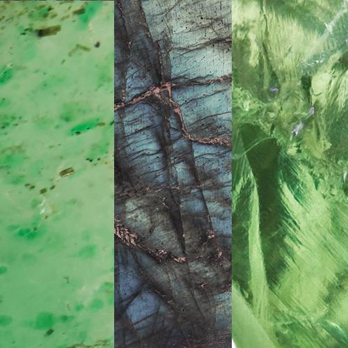 Green Aventurine – labradorite – Green Amethyst