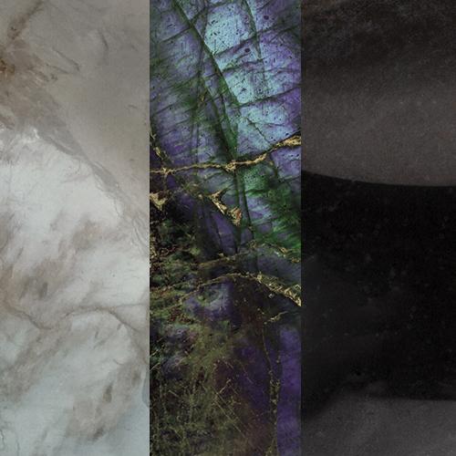 Grey Moonstone – Labradorite – Black Onyx