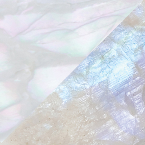 Mother of Pearl – Rainbow Moonstone