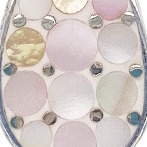 Pink Mosaic Mother of Pearl